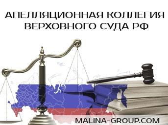 Апелляционная коллегия Верховного Суда Российской Федерации
