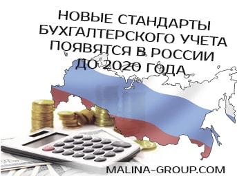 Новые стандарты бухгалтерского учета появятся в России до 2020 года