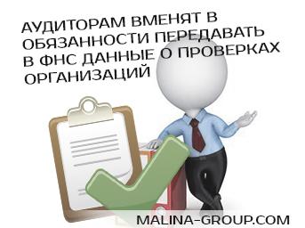 Аудиторам вменят в обязанности передавать в ФНС данные о проверках организаций