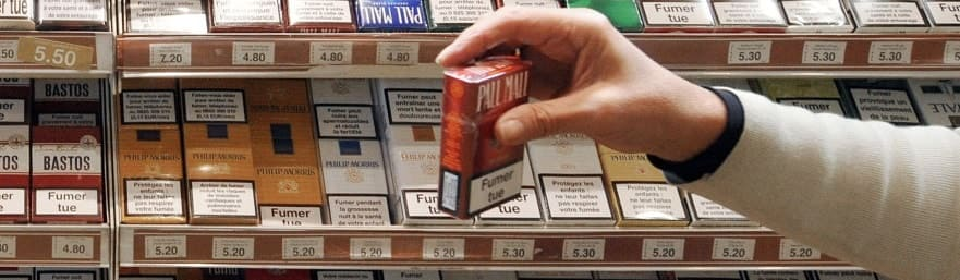 Акцизная табачная продукция безвозмездно на рекламу