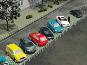 Можно ли ставить машины на придомовой территории